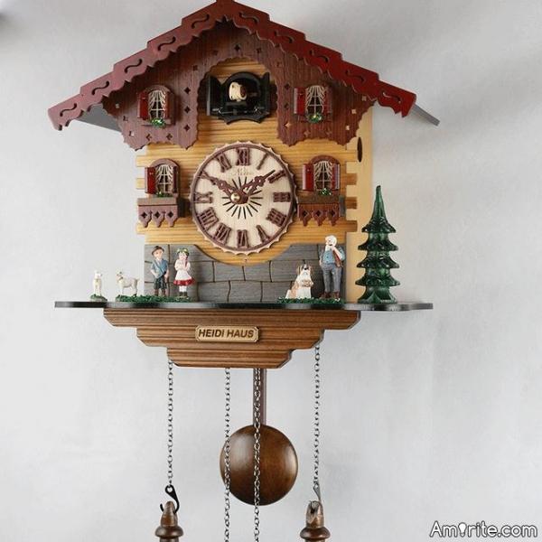 Having a cuckoo clock, why?