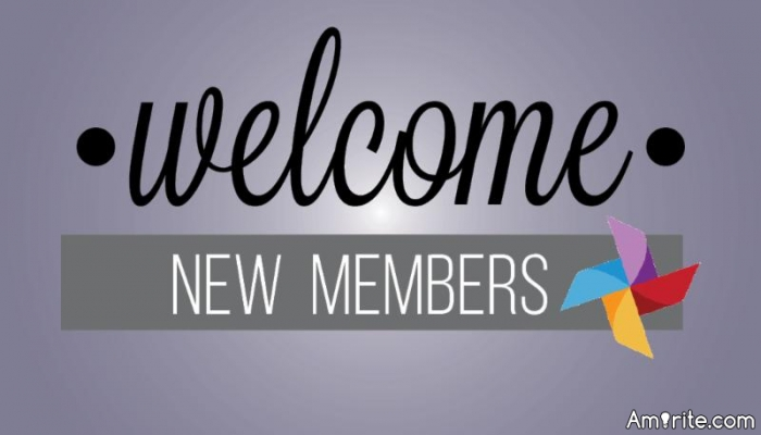 Let's welcome all new members who joined Amirite this month and also welcome to Tiffaneexo.
