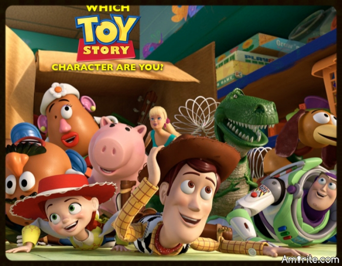 Quiz! Which 'Toy Story' Character Are You?