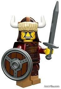 Do you think that most Vikings of the late 800th Century should sign an agreement, which makes hurting them impossible, as long as they plunder with Lego swords and certain configurable figures only? They might even have certain options to choose from...