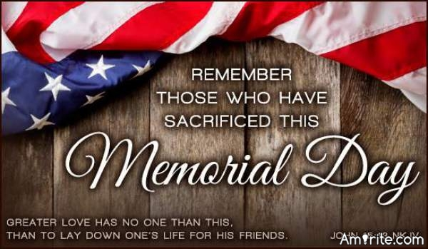 Remember Those Who Have Sacrificed