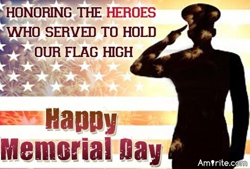 Honoring the HEROES, who Served to Hold OUR FLAG high!