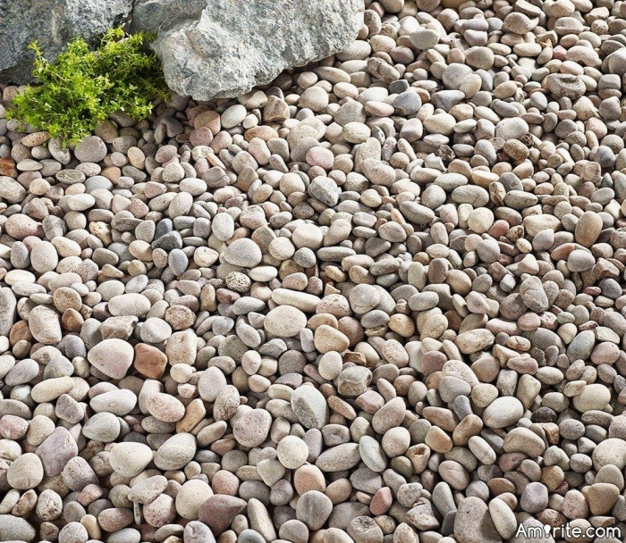 Have you ever noticed how lonely most pebbles are?