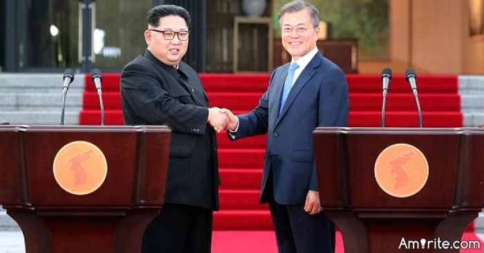 There will be no more war on the Korean Peninsula.