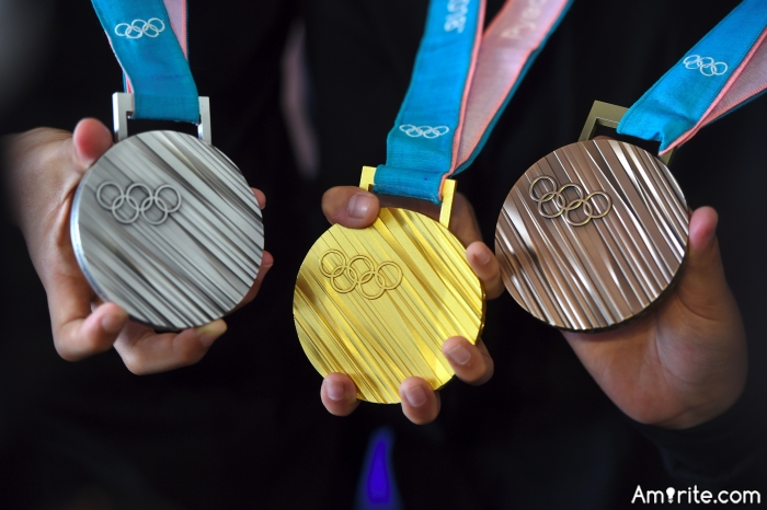 If you could win an Olympic medal for anything, what would it be for?