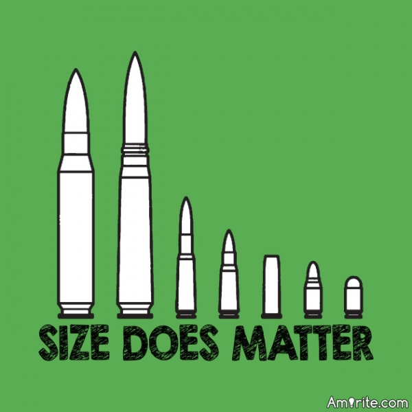 Size does Matter, <strong>rite?</strong>