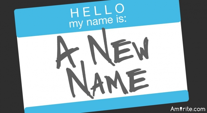 If you could change your name (or username), what would it be?