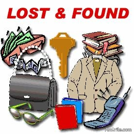 What was the last thing you lost?   Have you found it yet?