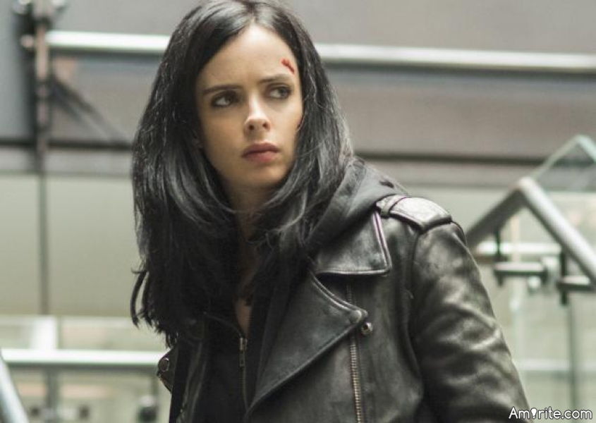 Is it just me or is Marvel's &#34;Jessica Jones&#34; just a <b>**? She treats other people, especially the lesbian characters with such a disgust... She shouldn't be a part of the </b>** franchise at all. I'd call homophomic here, right now.
