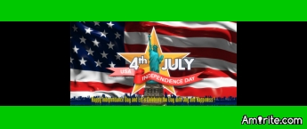 From England , wishing all my American friends a wonderful 4th of July....have a wonderful day...
