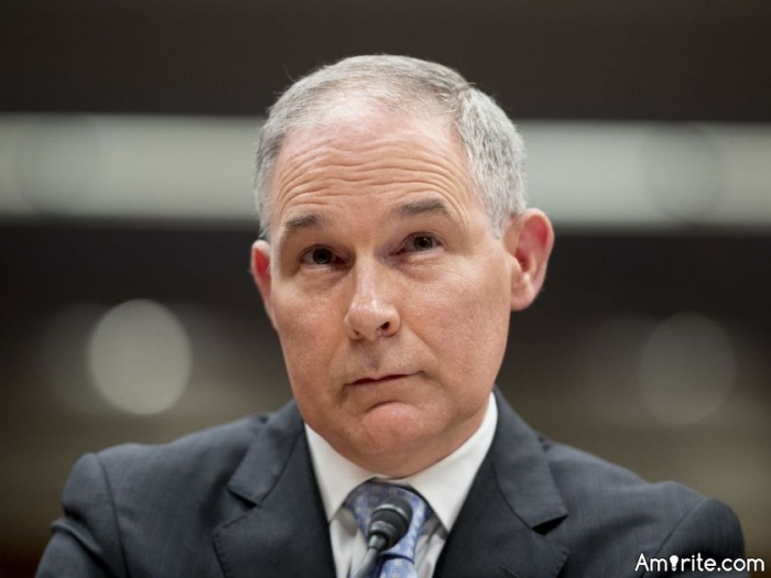 NOW THAT PRISSY SCOTT PRUITT HAS RESIGNED, WHAT HAPPENS TO ALL THE INVESTIGATIONS INTO HIS LACK OF ETHICS AND IMPROPER SPENDING?