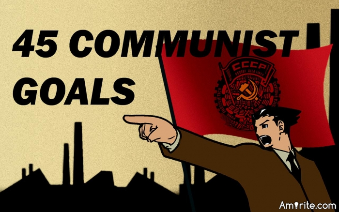 What Do BLM, ANTIFA, Democrat Party, and Media Have in common with the Communist Party Goals To Take Over America?