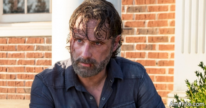 """Non Political Post of the Day: Is """"The Walking Dead"""" supposed to be a world wide event, or contained to the US?"""