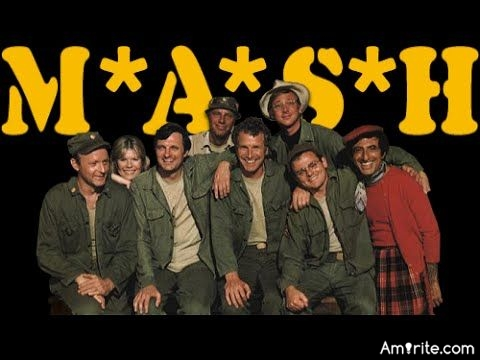 Do you watch the old M*A*S*H* reruns? I missed most of the show when it was on originally.