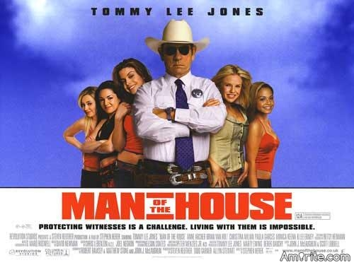 Have you seen the movie Man of the House? Although I'm a movie freak, I just hadn't and (well, I'm posting this on a commercial break) I'm just glad to have the chance of recording it to my cloud account. It's bloody hilarious. Completely unlike most of the other Tommy Lee Jones movies.