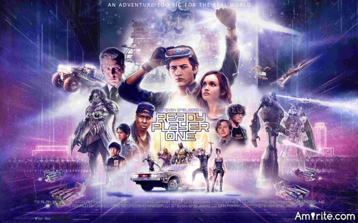 "Finally watched ""Ready Player One"". It was perfect. :)"