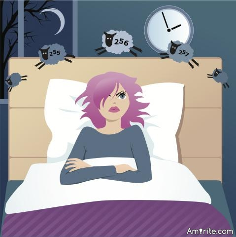 <em>Being so exhausted you can barely walk straight or speak properly, but still you don't fall asleep is one of the most frustrating experiences I have ever felt.</em> Do you know someone with insomnia?