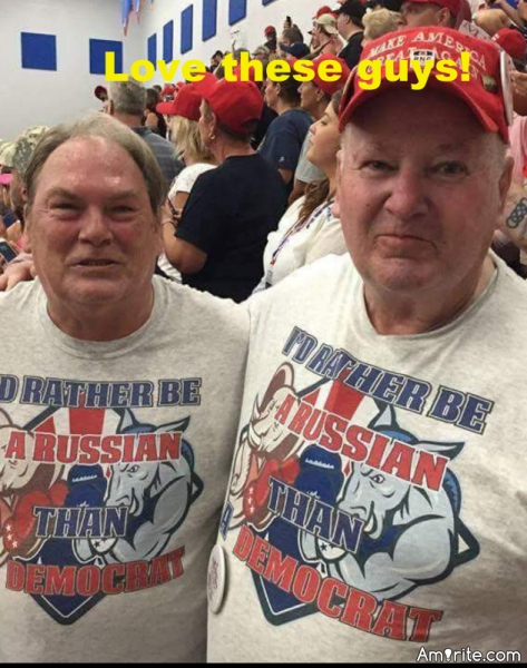 Finally, maybe now they will vote for universal health care too. Russia has something like 'medicaid for all.' (I'll bet at least one of these guys is on social security and medicare.)