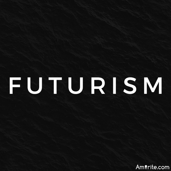 Post a song with the word futurism in the title