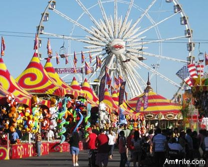 State Fairs:   What do you enjoy the most at a state fair?