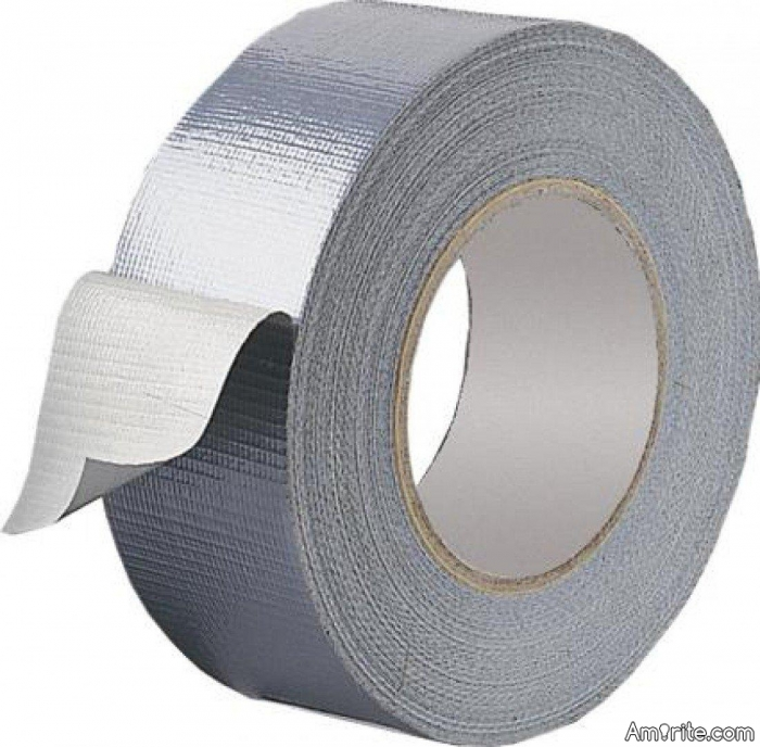 What can't be fixed with a roll of duct tape?