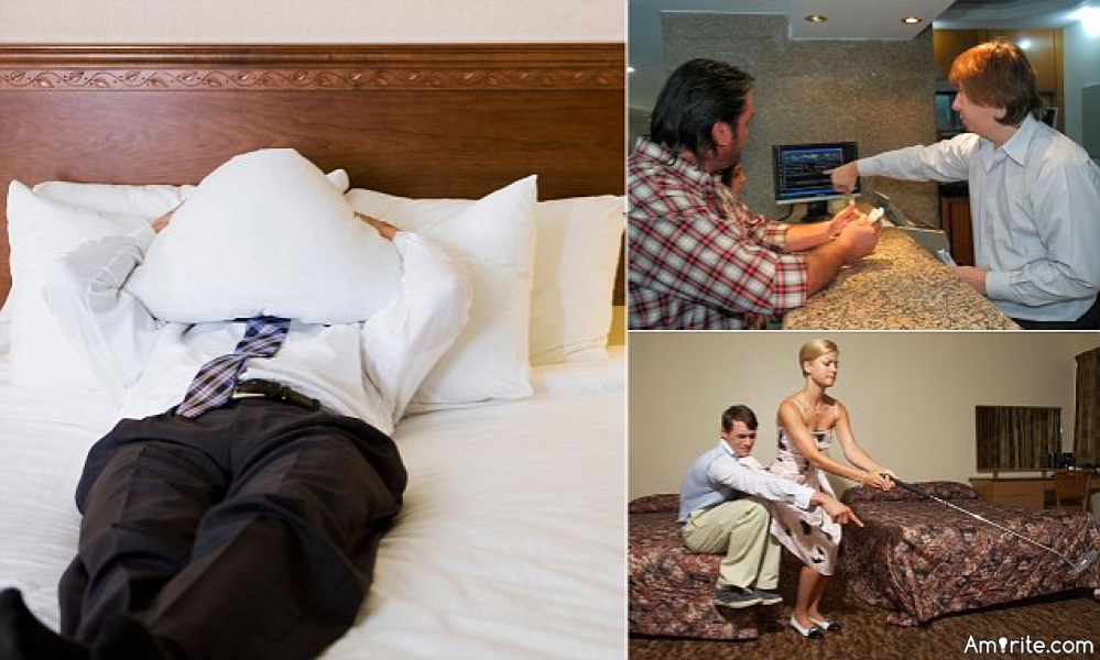 What would you hate to find dirty in your hotel room?