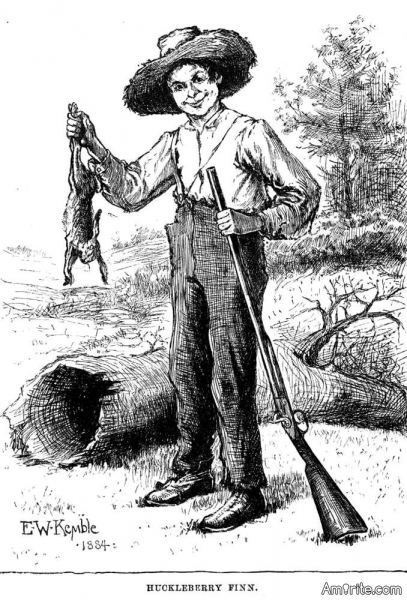 Why did Mark Twain name his protagonist Huckleberry Finn, when he could've - just as well - named him Dingleberry Finn?